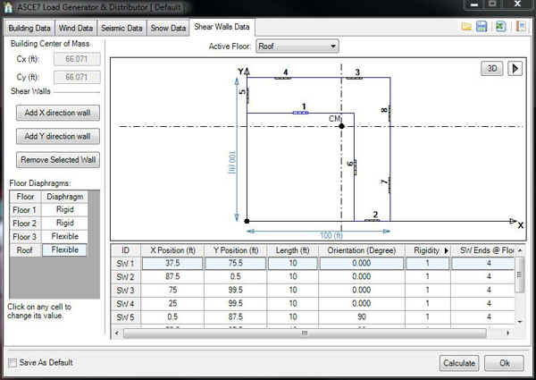 Shear Wall Design Xls : Load generator steelsmart? system