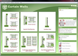 Curtain Wall Design Module