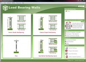 Cold Formed Steel Load Bearing Wall Design Software