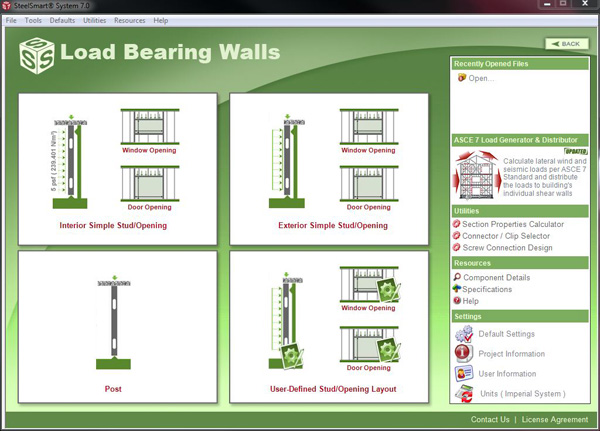 Load Bearing Cold Formed Steel Design Software Amp Training