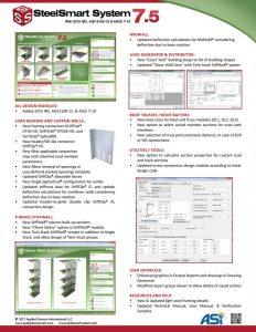 SSS 7.5 Flyer Steel Stud Design Software