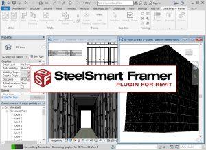 Steel Smart Framer- Plugin for Revit