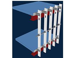 Light Steel Framing Curtain Wall Design Module