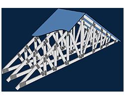 Light Steel Framing Roof Truss Design Module