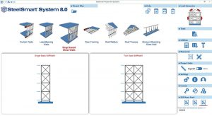 Cold-formed Steel X-Braced ShearWall Design Software Module