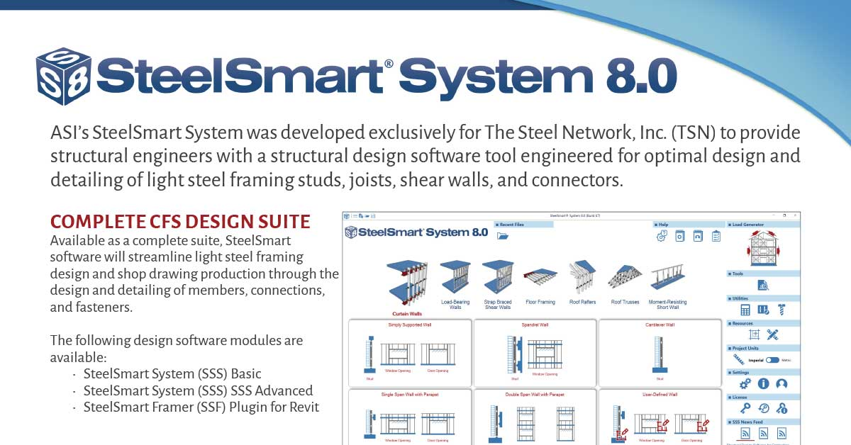 Best CFS Design Software - SteelSmart System