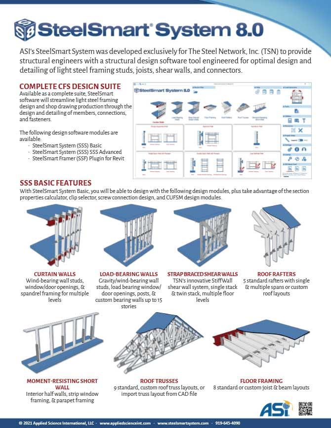 Best LSF Design Software - SteelSmart System